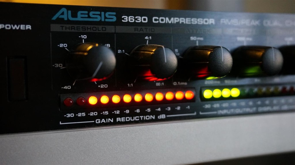 Alesis compressor gate